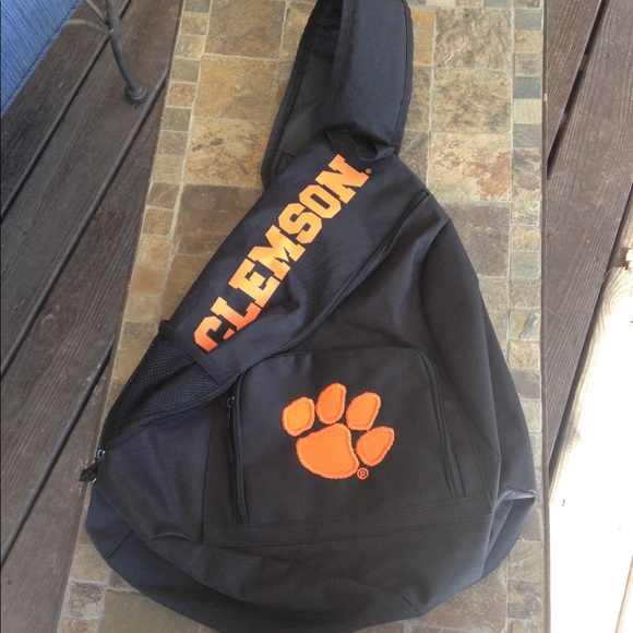 055a1be09dc Bags   Clemson Over The Shoulder Book Bag   Poshmark